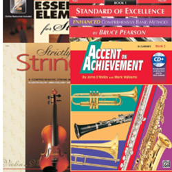 School Band Orchestra Books