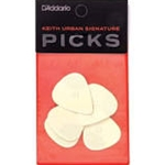 D'Addario 1UKU6-05 Keith Urban Signature Ultem Pick-Heavy 5 pack