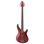 Yamaha TRBX304CAR Electric Bass Candy Apple Red