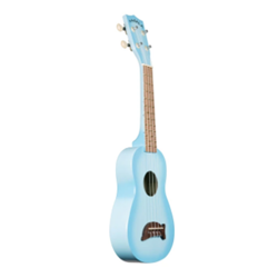 Kala MK-SD/LBLBRST Light Blue Burst Dolphin Ukulele