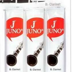 Juno Bb Clarinet Reeds, Pack of 3